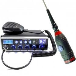 Lafayette Evolution Statie Radio CB + Sirtel Santiago 1200 Antena Fixa