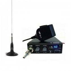 CRT S Mini Statie Radio CB + Maas Turbo 27 Antena Magnetica