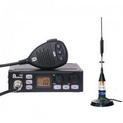 Allamat 409 Statie Radio CB + Premier Delta Antena Magnetica