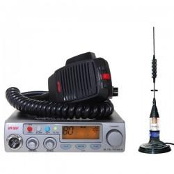 Intek M 795 Power Statie Radio + Premier Delta Antena Magnetica