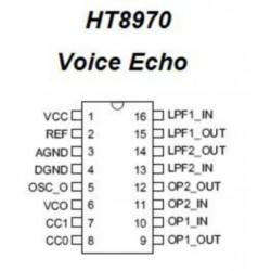 Circuit Integrat HT8970 pentru Placuta Ecou