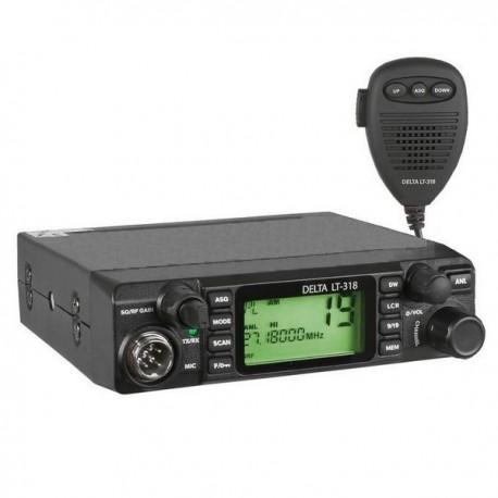 Sonar Delta LT-318 Statie Radio CB Putere 4W