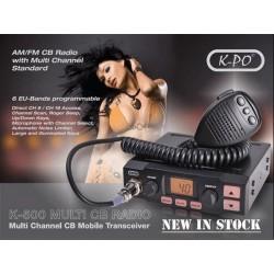 K-PO K-500 Statie Radio CB Putere Comutabila 4W-8W