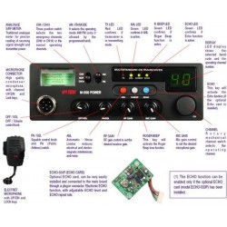 Intek Statie Radio M 550 12 W Power