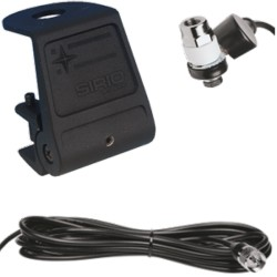 Sirio KF Black 3/8+PL+Cable Suport Antena la Streasina