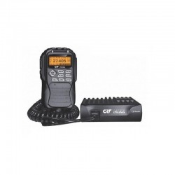 CRT Mike Statoe Radio CB + CRT RML 245 Antena CB Magnetica