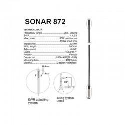 Sonar-872 Antena Radio CB Prindere DV