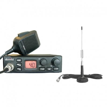 Danita 310M Multi Statie Radio CB + ANTENA GRATUITA