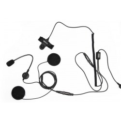 Kit Moto PMR Casti + Buton Ptt
