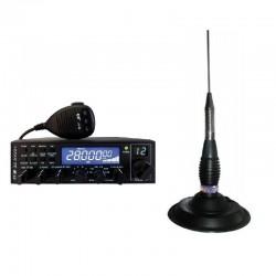 CRT SS 6900 N Blue Statie Radio CB + ANTENA GRATUITA