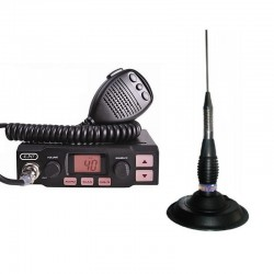 K-PO K-500 Statie Radio CB + Millenium ML 145 Antena Radio Magnetica