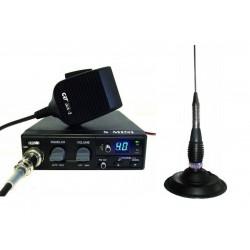 CRT S Mini Statie Radio + Millenium ML 145 Antena Radio CB Prindere Magnetica