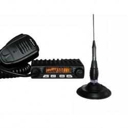 AnyTone Smart Statie Radio CB + CRT RML 145 Antena Magnetica