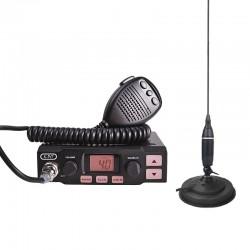 K-PO K-500 Statie Radio CB + Sonar Delta 500 Antena Radio CB Prindere Magnetica