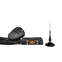 CRT One N Statie Radio CB + CRT RML 145 Antena Magnetica