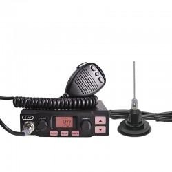 K-PO K-500 Statie Radio CB + Sonar-825 Antena Radio CB Prindere Magnetica