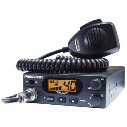 President Teddy Statie Radio CB Putere 4W / 8W Filtre Murata