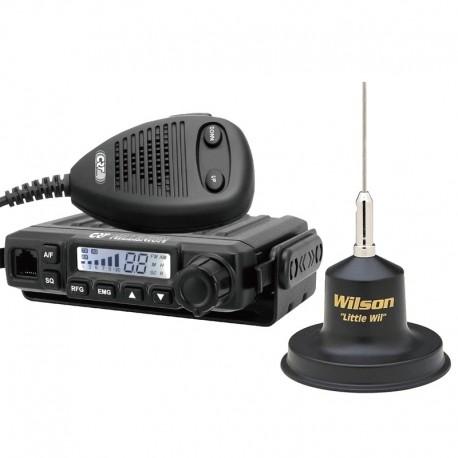 CRT S Mini Statie Radio + Willson Little Wil Antena Magnetica
