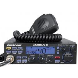 President Lincoln II ASC Statie Radio CB 4W