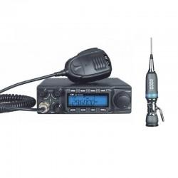 CRT SS 9900 V4 Statie Radio CB + Sirio Performer 5000 Antena PL