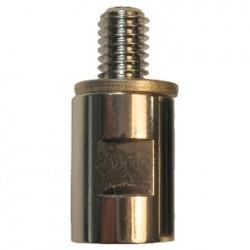 Sirio Adaptor M6-M/M7-F Crom