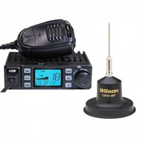 CRT XENON Statie Radio CB + Wilson Little Wil Antena CB Prindere Magnetica