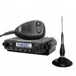 CRT Millenium Statie Radio CB + CRT RML 145 Antena CB Prindere Magnetica
