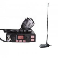 K-PO K-500 Statie Radio CB + Millenium MINI 45 Antena CB Prindere Magnetica