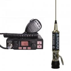 K-PO K-500 Statie Radio CB + Sirio Performer 2000 Antena CB Prindere PL
