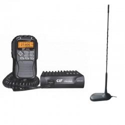 CRT Mike Statie Radio CB + Millenium MINI 45 Antena CB Prindere Magnetica