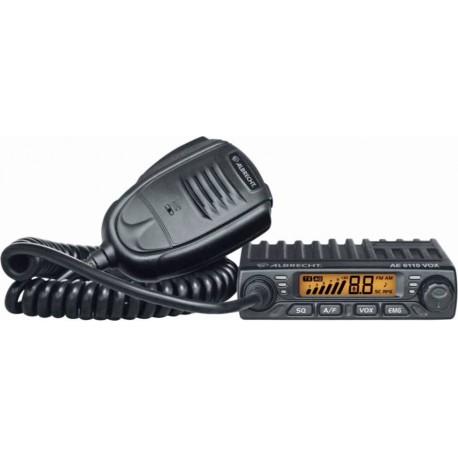 Albrecht AE 6110 Statie Radio CB Putere 4W / 4W-8W Comutabila / 20W Fixa