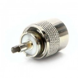 Mufa Antena PL259 pentru RG59 / RG58