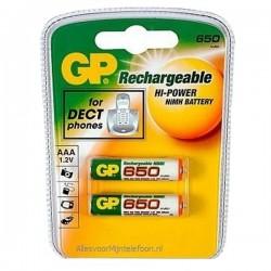 GP 650 MAH Acumulator AAA