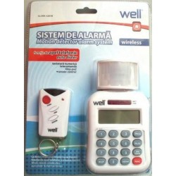 Well Sistem de Alarma Auto Wireless