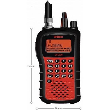 Uniden USC 230 Scaner Radio